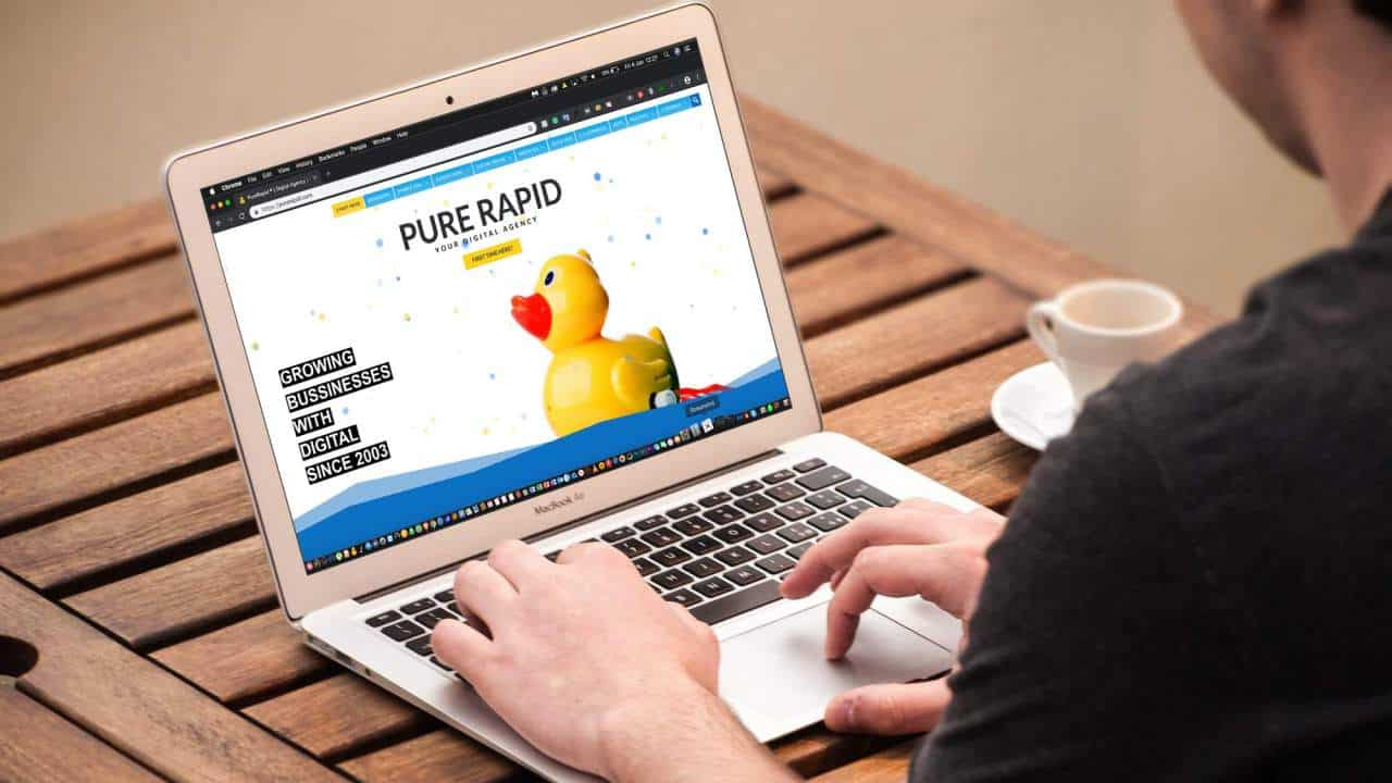 glasgow web designers pure rapid